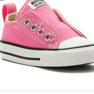 Infant pink Converse All Star Chuck Taylors